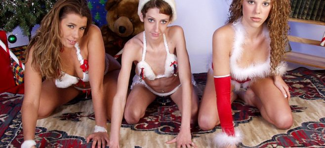 Couples swingers party Christmas